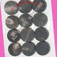 Buffalo Horn Blank Buttons
