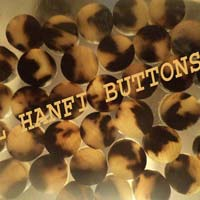 Ox Horn Blank Button 03