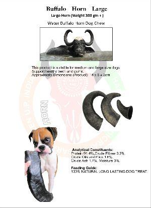 Dog Chew Buffalo Horn 01