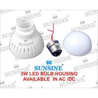 LED Bulb Housing (3W)