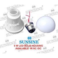 LED Bulb Housing (5W)