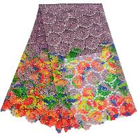embroidered fabric lace