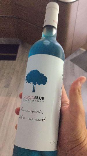 Pasion Blue Chardonnay Blue Wine