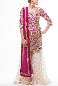 Embroidered Zardozi Suits