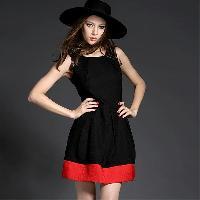 D-01 Black Beauty Western Dress
