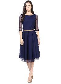 D-02 Blue Moon Light Western Dress