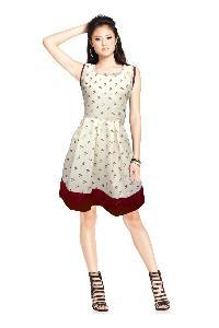 D-10 Karishma Macro Western Dress