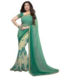Silk Saree (A3 Green)