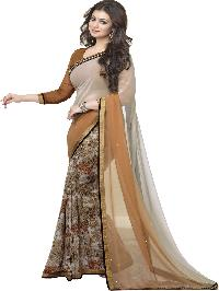 Silk Saree (A4 Chocolate)