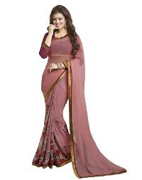 Silk Saree (A4 Pink Padding)