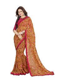 Silk Saree (A7 Brown)