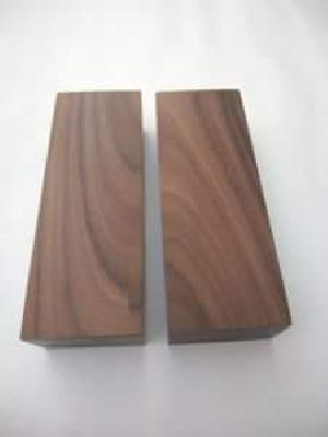 Black Palm Wood Scales Manufacturer Exporter Supplier In Sambhal India