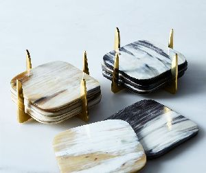 Horn Coasters