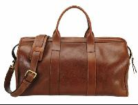 Ladies Leather Duffle Bag