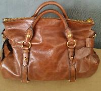 Ladies Leather Satchel Bag