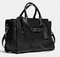 Ladies Leather Swagger Bag