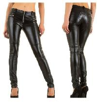 Ladies Leather Trouser