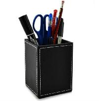 Leather Pen & Pencil Holder