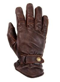 Mens Leather Brown Summer Waterproof Glove
