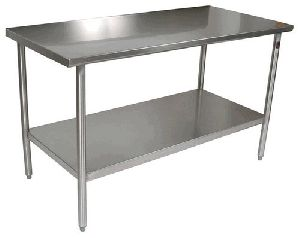 Stainless Steel 2 Stand Table