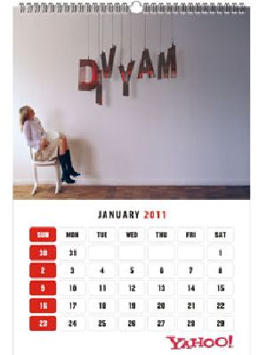 Personalized Wall Calendar