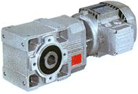 A series Helical-bevel Gearmotors
