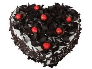 Black Forest Cake (Heart Shape)