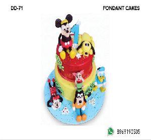 Fondant Cake (DD-71)
