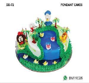 Fondant Cake (DD-72)