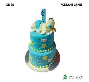 Fondant Cake (DD-76)