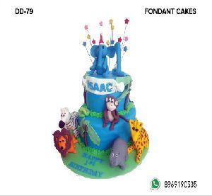 Fondant Cake (DD-79)