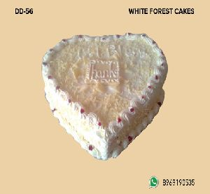 White Forest Cake (D-56)