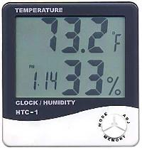 Digital Thermo Hygrometer with Clock