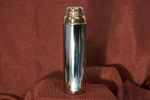 Copper Metal Material Type Water Bottle.