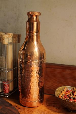 copper water bottles / solid copper water storeage