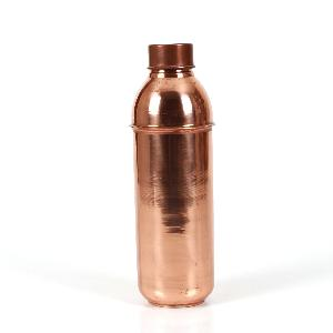 Traveller's Pure Copper YOGA Water Bottle for Ayurvedic Health Benefits Joint Free, Leak Proof