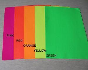 Fluorescent Paper 01