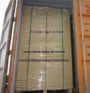 Poly Coated Paper Sheets