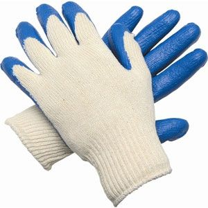Coated Knitted Gloves