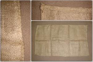 "33"" x 14"" (84 cm x 35.50 cm) Hessian Sandbag"