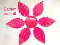 Badam Acrylic Rangoli