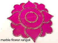 Marble Flower Acrylic Rangoli