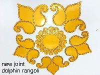 New joint Dolphin Acrylic Rangoli