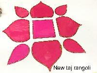 New Taj Acrylic Rangoli