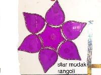 Star Modak Acrylic Rangoli