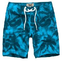 Mens Coconut Tree Pattern Shorts