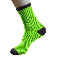 Lisle Stripe Long Socks