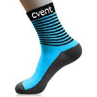 Cotton Stripe Long Socks