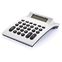 Curved Digital Calculator