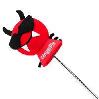 Devil Car Antenna Topper Ball